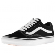 Product Image for Vans Old Skool Canvas Trainers Black