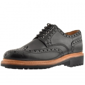 Product Image for Grenson Archie Brogues Shoes Black