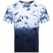 True Religion Cyber Wash T Shirt Blue
