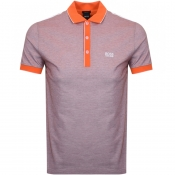 BOSS Athleisure Paddy 2 Polo T Shirt Orange