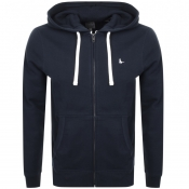 Jack Wills Pinebrook Full Zip Hoodie Navy