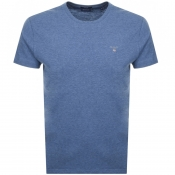 Gant Original T Shirt Blue