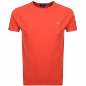 Gant Original T Shirt Red