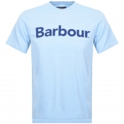 Product Image for Barbour Ardfern Logo T Shirt Blue