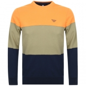 Product Image for Barbour Beacon Derwent Crew Neck Sweatshirt Orange