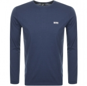 BOSS Athleisure Long Sleeve Togn T Shirt Navy