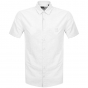 BOSS Casual Short Sleeved Magneton Shirt White