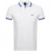 Product Image for BOSS Athleisure Paddy Polo T Shirt White