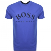 BOSS Athleisure Tee 7 T Shirt Blue