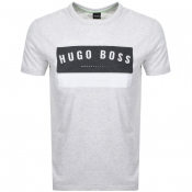 BOSS Athleisure Tee 1 T Shirt Grey