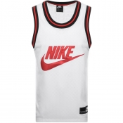 Product Image for Nike Logo Mesh Vest T Shirt White