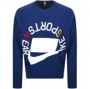 Product Image for Nike Crew Neck Sportswear Sweatshirt Navy