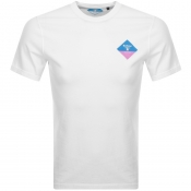 Barbour Beacon Small Diamond T Shirt White