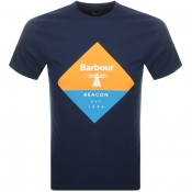 Barbour Beacon Diamond T Shirt Navy