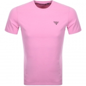 Barbour Beacon Standard T Shirt Pink