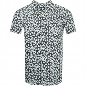 Product Image for Emporio Armani Short Sleeved Shirt Dark Green