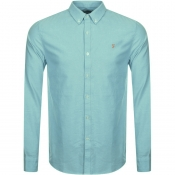 Farah Vintage Brewer Shirt Blue
