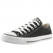 Product Image for Converse Chuck Taylor OX Leather Trainers Black