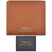 Ralph Lauren Billfold Wallet Brown