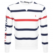 Product Image for Ralph Lauren Crew Neck Sweatshirt White