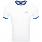 Product Image for Barbour International Small Logo T Shirt White