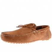 Barbour Eldon Driving Shoes Brown