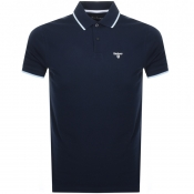 Barbour Aubrey Polo T Shirt Navy