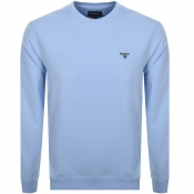Barbour Seton Crew Neck Sweatshirt Blue