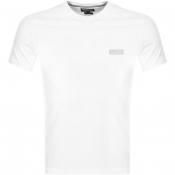 Barbour International Logo T Shirt White