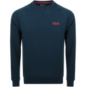 Product Image for Barbour International Crew Neck Sweatshirt Navy