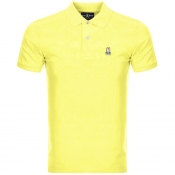 Product Image for Psycho Bunny Classic Polo T Shirt Yellow