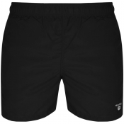 Gant Classic Fit Swim Shorts Black