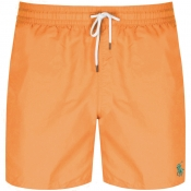Ralph Lauren Traveller Swim Shorts Orange
