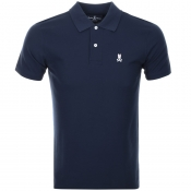Product Image for Psycho Bunny Classic Polo T Shirt Navy