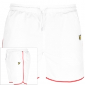 Product Image for Lyle And Scott Logo Piping Shorts White