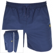 Product Image for Lyle And Scott Logo Piping Shorts Navy