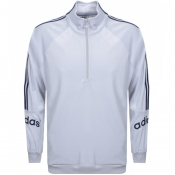 Product Image for adidas Originals Cozy Half Zip Track Top Grey