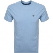 Barbour Seton Logo T Shirt Blue