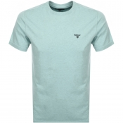 Barbour Seton Logo T Shirt Green