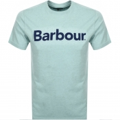 Barbour Ardfern Logo T Shirt Green