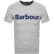 Barbour Ardfern Logo T Shirt Grey