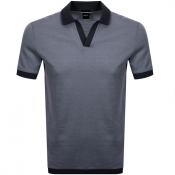 BOSS HUGO BOSS Pye 4 Polo T Shirt Navy