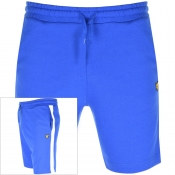 Lyle And Scott Logo Sweat Shorts Blue
