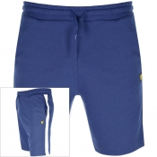 Lyle And Scott Logo Sweat Shorts Navy