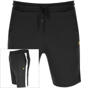 Product Image for Lyle And Scott Logo Sweat Shorts Black