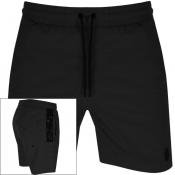 Product Image for Luke 1977 Holiday Game Swim Shorts Black