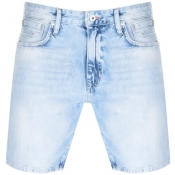 Product Image for Superdry Denim Connor Taper Shorts Blue
