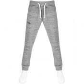 Superdry Orange Label Slim Jogging Bottoms Grey