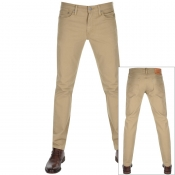 Levis 512 Slim Tapered Jeans Brown