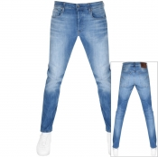 G Star Raw 3301 Slim Fit Jeans Blue